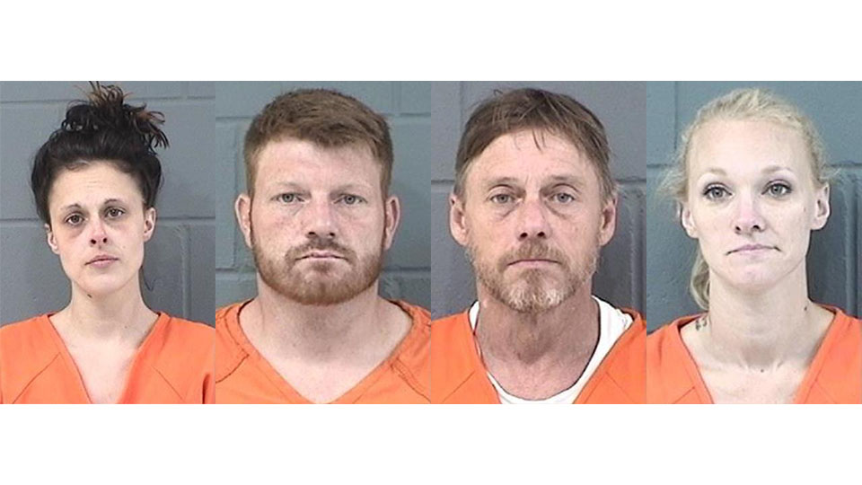 Four arrested in Junction City drug bust