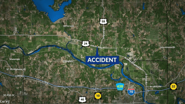 Motorcycle accident on US-24 sends woman to hospital | KSNT News
