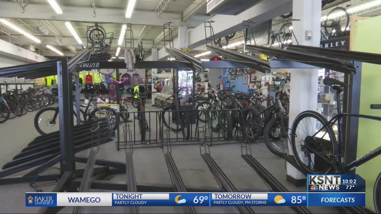 Bike shops try to keep up with demand after the coronavirus pandemic sparks surge in sales