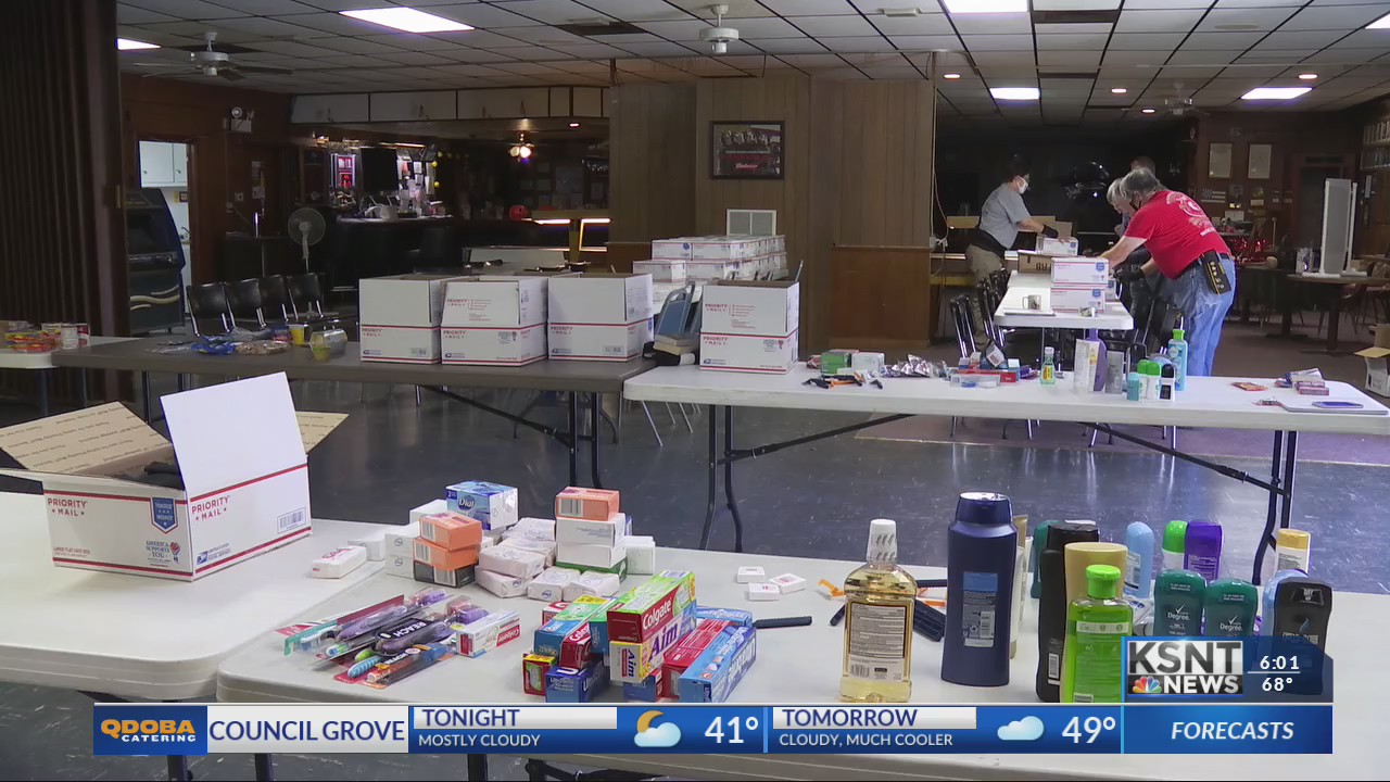 Emporia group fills care packages for Kansas soldiers