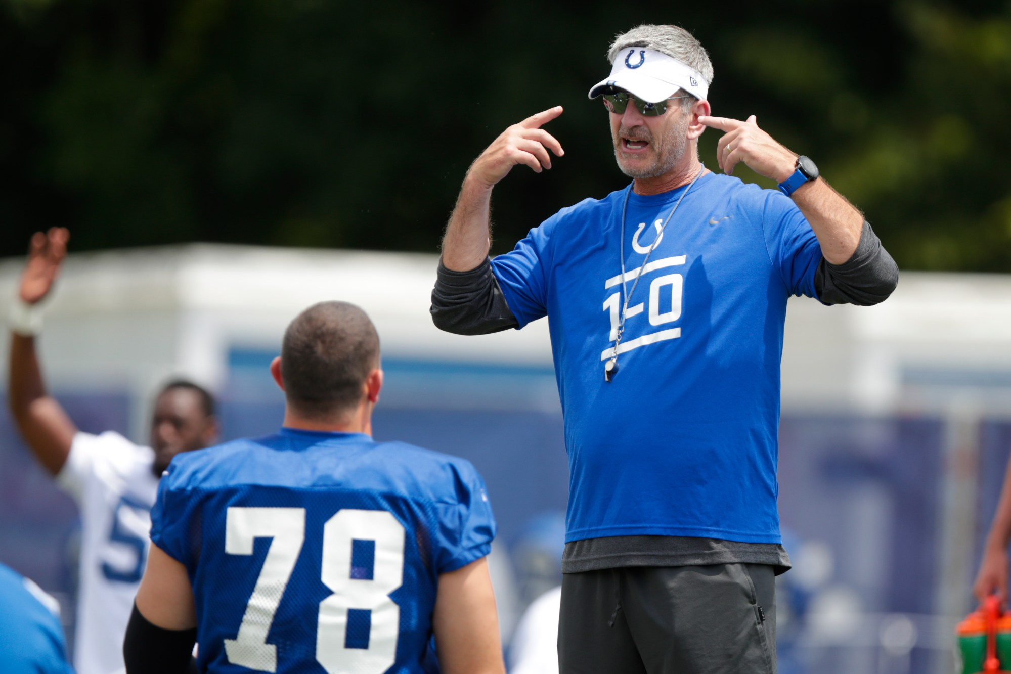 Frank Reich, Ryan Kelly