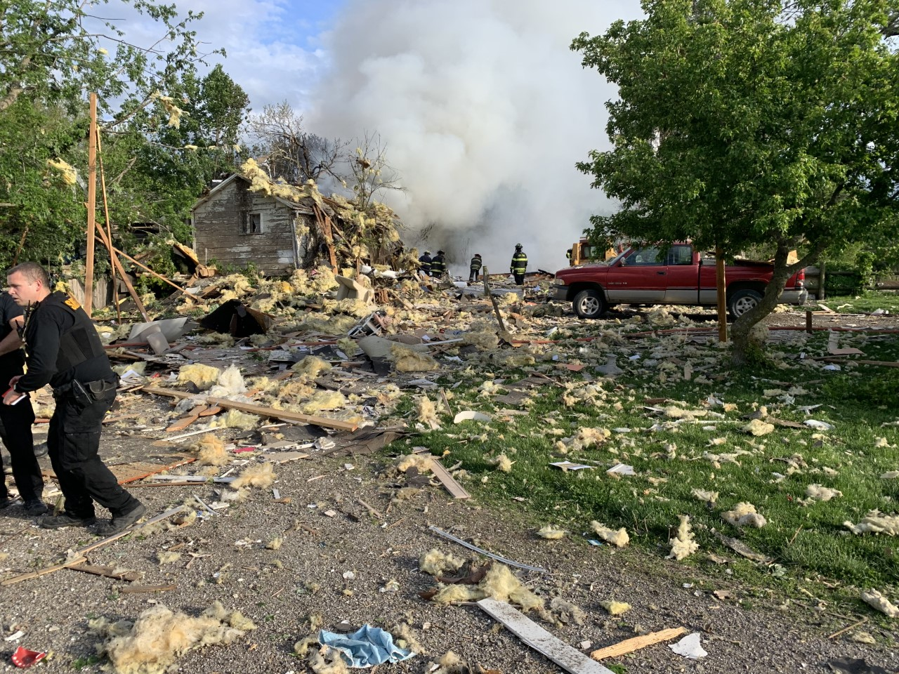 Jackson County home leveled in explosion, sheriff identifies man found dead