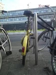 Het gele fietsje, 13 december 2012