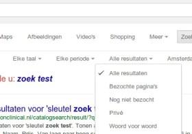Google zoekt ineens 'anders'