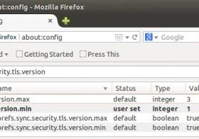 Ubuntu: hoe SSLv3 uit te zetten in Chrome en Firefox