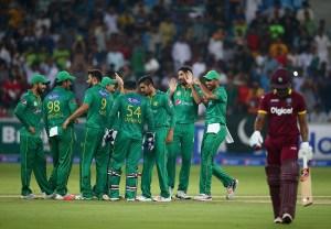 Pakistan nine points ahead of West Indies in ODI rankings
