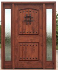 TUSCAN ARCHED TOP ENTRY DOOR WITH SIDE LITES EX-1336 - KSR ...