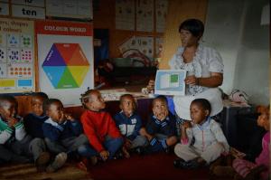 Kagiso Shanduka Trust (KST), South African school pupils