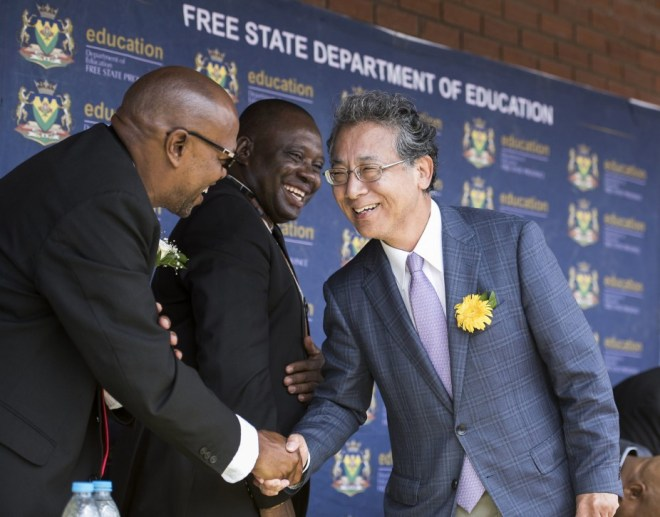 The Japanese Embassy in South Africa Invests in a Primary School