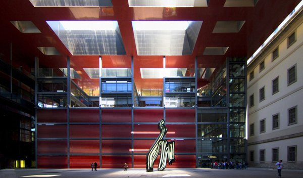 Reina Sof Museum Expansion Ksu 2012 Madrid
