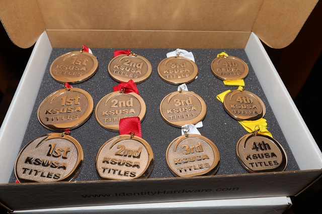 Medals for Winners