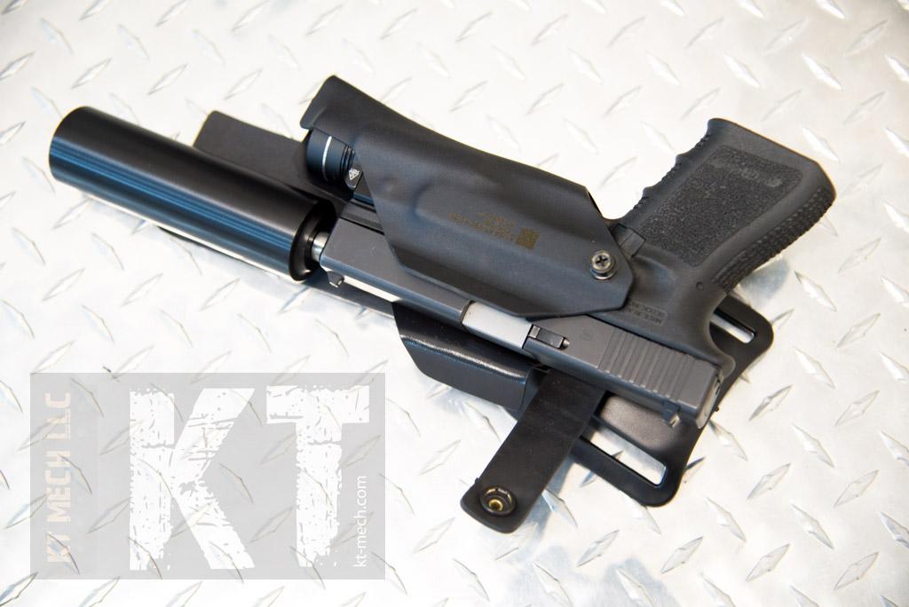 KT MECH LLC  Suppressor compatible holster
