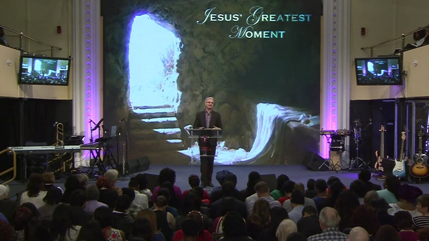 Jesus' Greatest Moment
