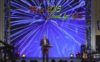 Make 2015 Count for God