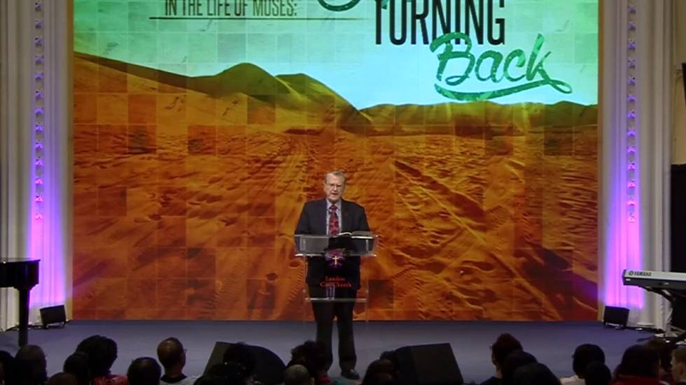 Defining Moments in the Life of Moses: No Turning Back