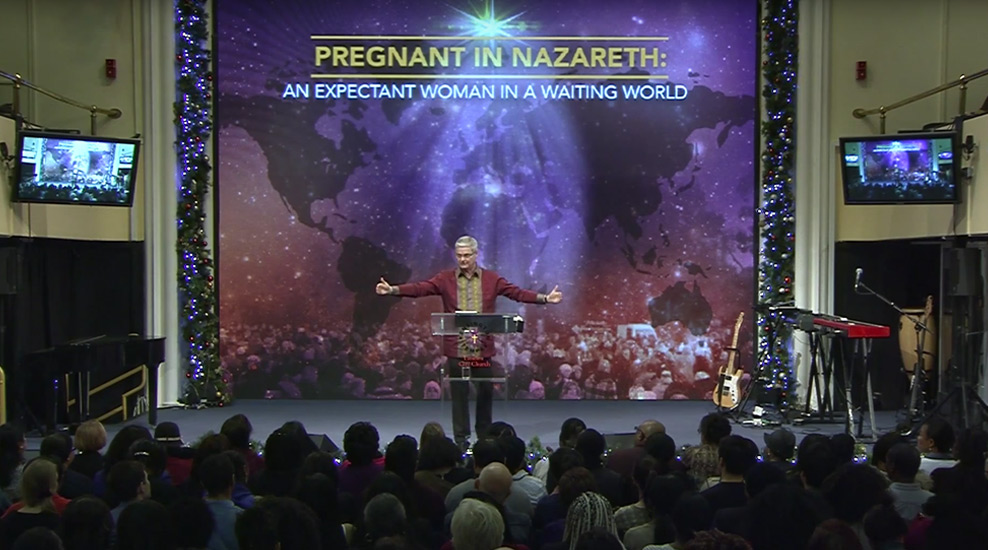 Pregnant in Nazareth: An expectant woman in a waiting world