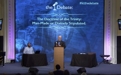 The Debate: The Doctrine of the Trinity Man Made or Divinely Stipulated