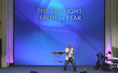 The Big Fight. Faith vs Fear