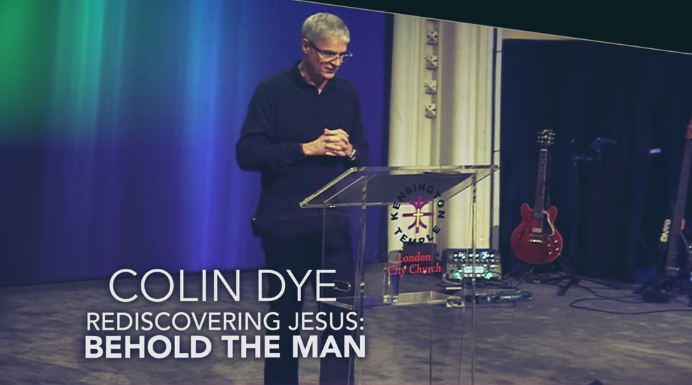 Rediscovering Jesus: Behold the Man