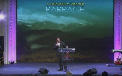 A Heavenly Prayer Barrage