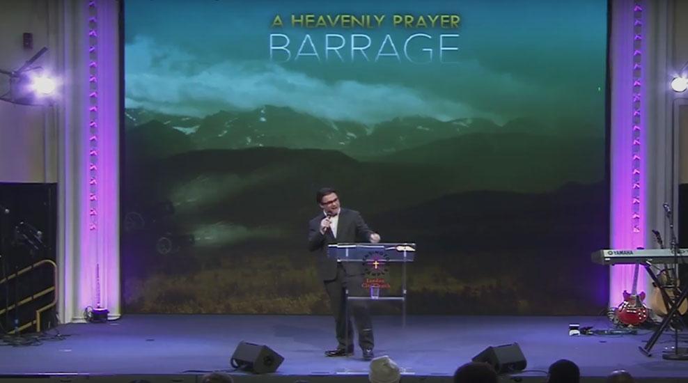 A Heavenly Prayer Barrage