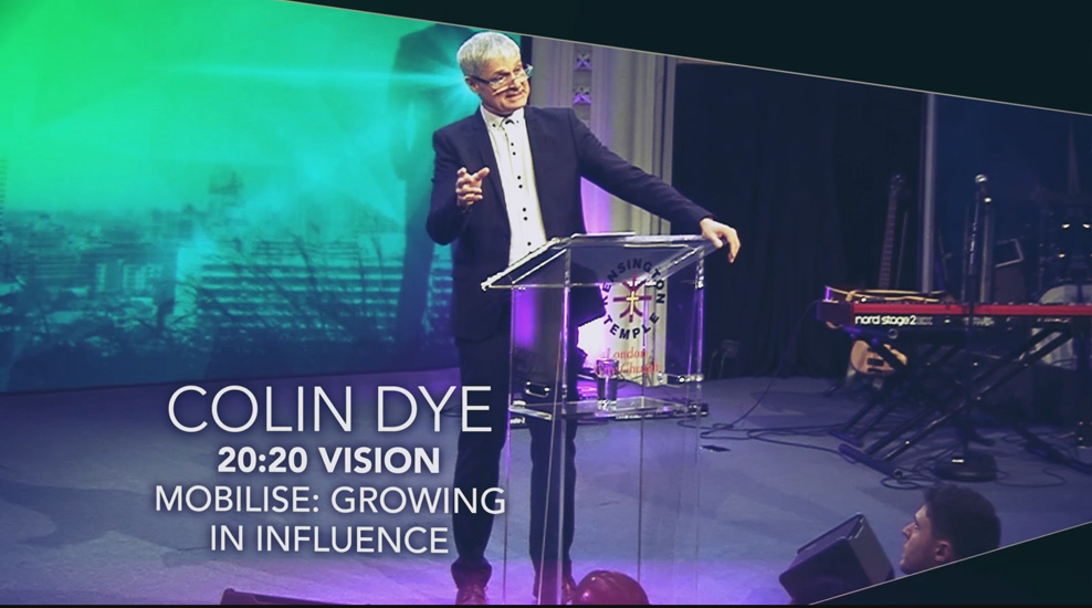20:20 Vision – Mobilise: Growing in Influence