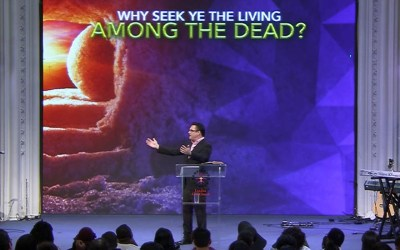 Why Seek Ye the Living Among the Dead