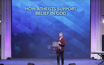 How Atheists support belief in God