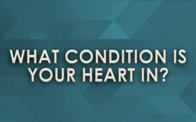 What Condition is your Heart in?