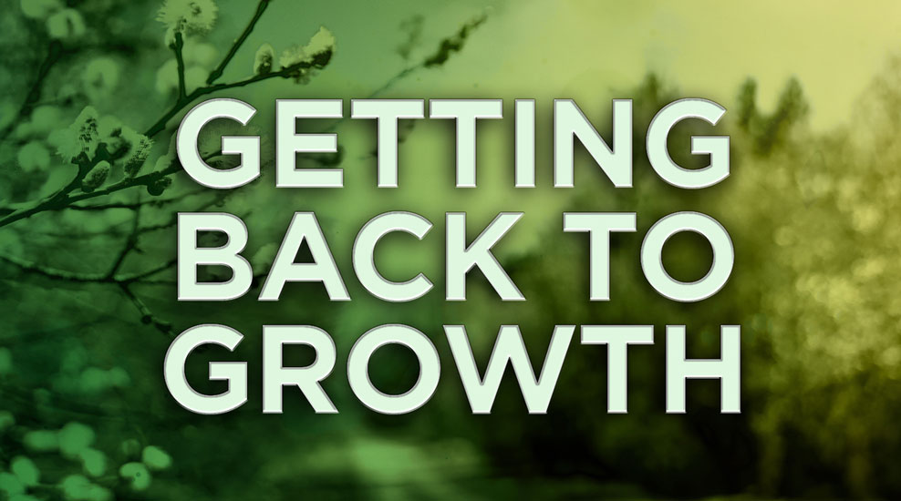 Getting Back to Growth