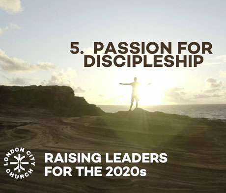 Raising Leaders for 2020 Vision SESSION 5