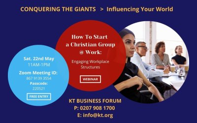 Starting a Christian Staff Network Group