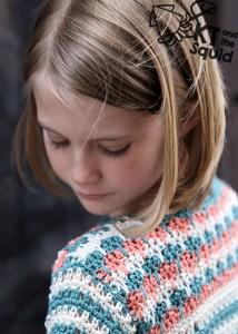 Gresham Park Top Crochet pattern KT and the Squid