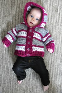 © 2016 Sincerely Pam Dylan Cardigan - Infant Sizes by Sincerely Pam