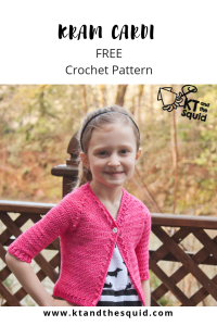 Hope Cardi free crochet pattern by KT and the Squid