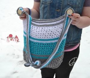 © Jennifer Hatch Kathy Cross Over Bag by Jennifer Hatch (crochet)
