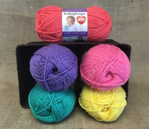 Red Heart Baby Hugs: A Detailed Yarn Review and Giveaway   KT and the Squid