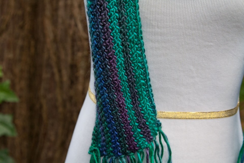 Waddicor Crochet Scarf free pattern by kt and the Squid
