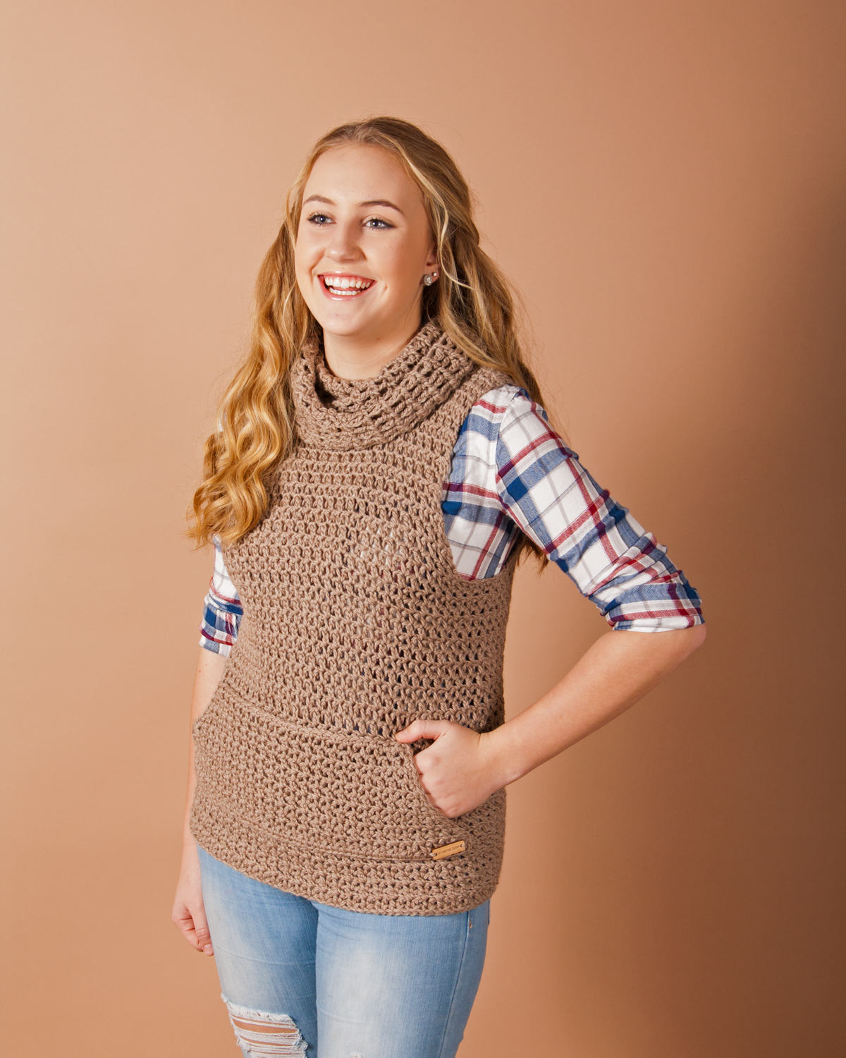 Claquato Vest Crochet Pattern Kt And The Squid