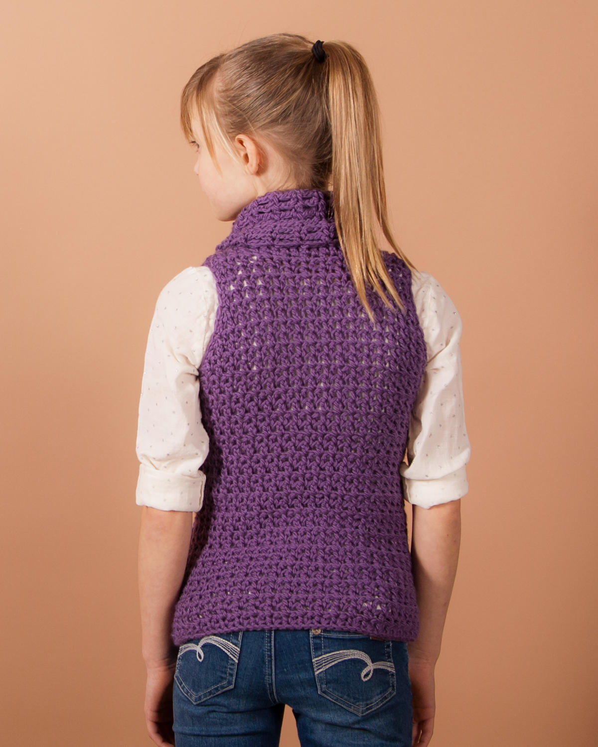 Claquato Vest Girls Crochet Pattern Kt And The Squid