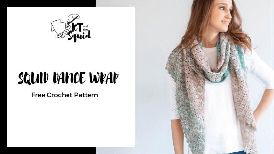 Squid Dance Wrap Free Crochet Pattern