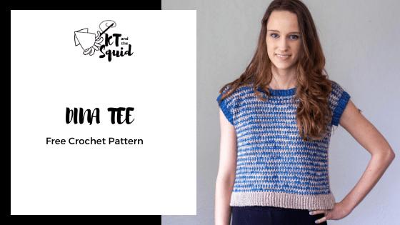 Dina Tee Free Crochet Pattern