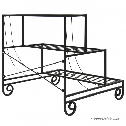 Best Choice Products 3 Tier Metal Plant Stand Decorative
