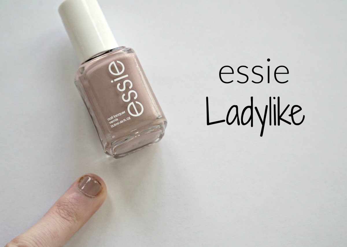 A Streamlined Nail Polish Capsule Collection For Everyday Nails Featuring Essie S Ladylike