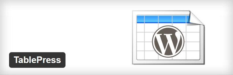 45 tablepress for wordpress wordpress plugin 2016 wpexplorer