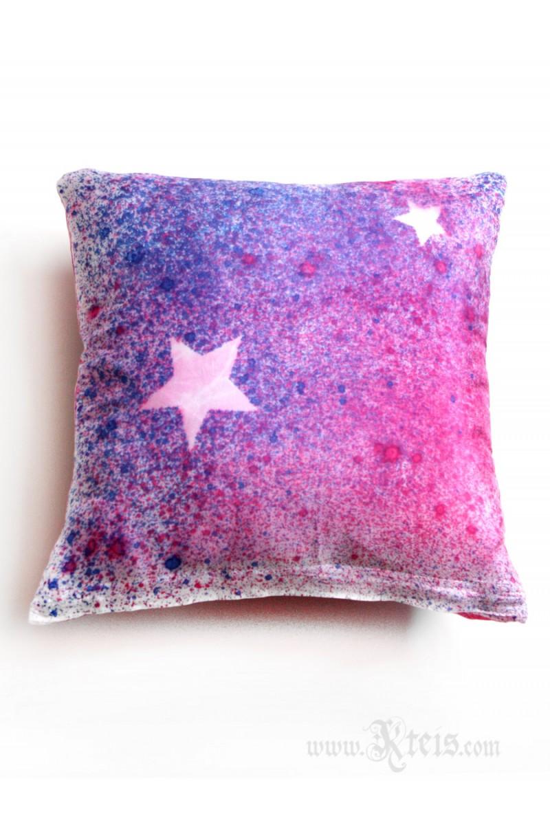 American Flag Silk Decorative Pillow