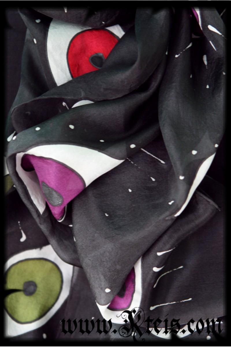 Us Flag Black And White Art