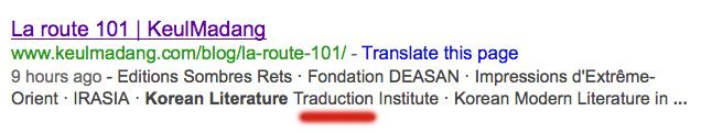 Literature-Traduction