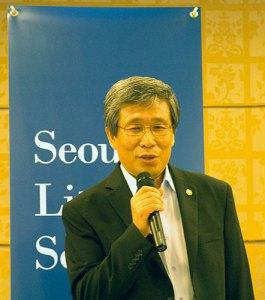 Kim Seong-kon speaks