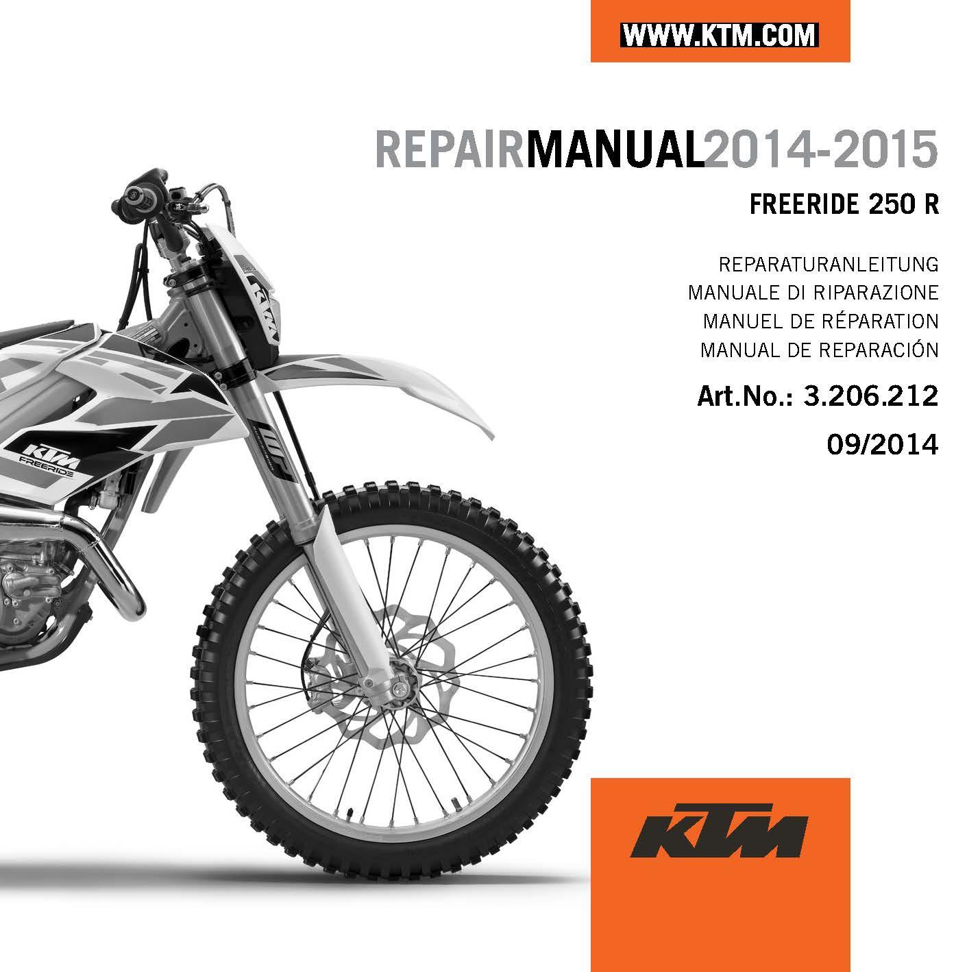 ktm spare parts manual motorview co rh motorview co Carbon Fiber Pipe Guard KTM Freeride 250R KTM Freeride 250R Tools